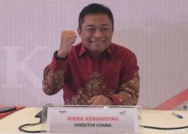 Telkom (TLKM) mengangkat Ririek Adriansyah jadi direktur utama gantikan Alex Sinaga